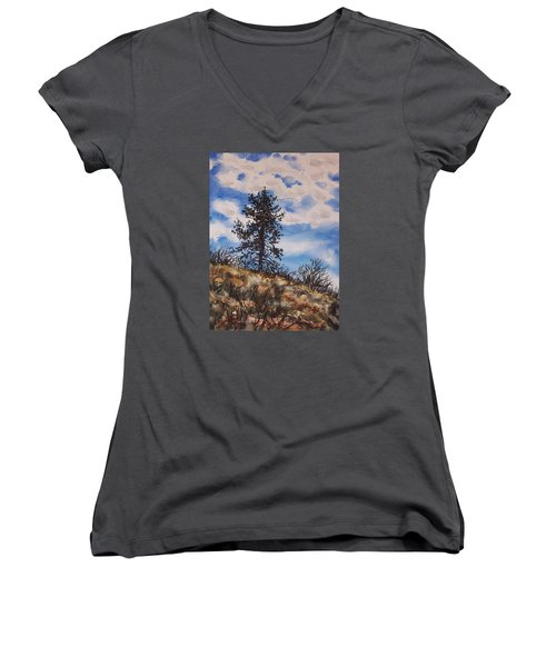 Lone Pine Women's V-Neck (Athletic Fit)