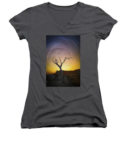 Lone Tree Women's V-Neck (Athletic Fit)