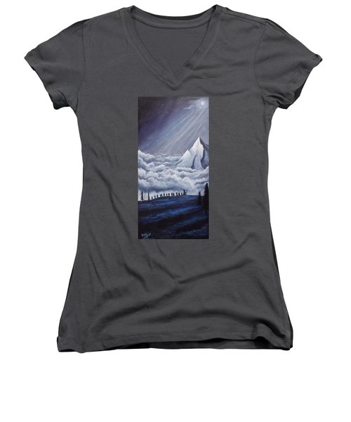 Lonely Mountain Women's V-Neck