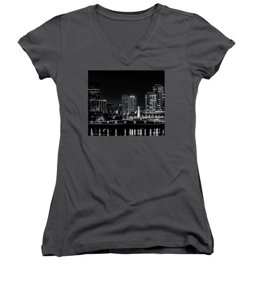 Long Beaach A Chip In Time Women's V-Neck