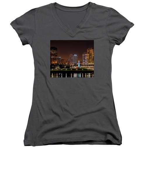 Long Beach A Chip In Time Color Women's V-Neck