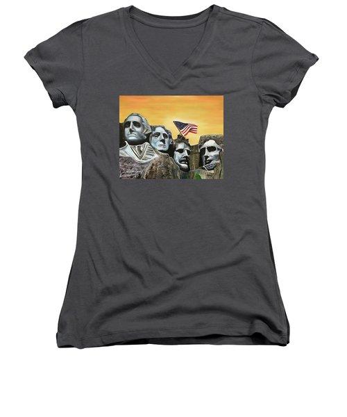 Long May It Wave Women's V-Neck T-Shirt