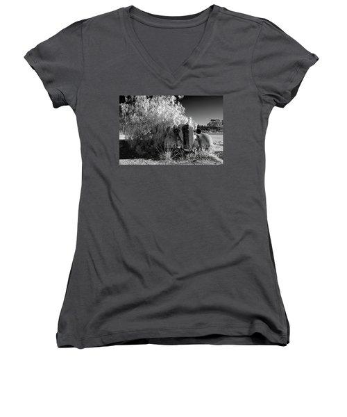 Long Term Parking Women's V-Neck T-Shirt