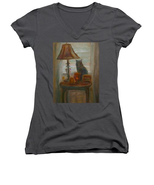 Longing- A Not-so-stillife Women's V-Neck