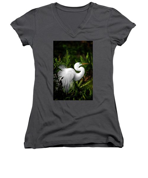 Lookin' For Love Women's V-Neck (Athletic Fit)