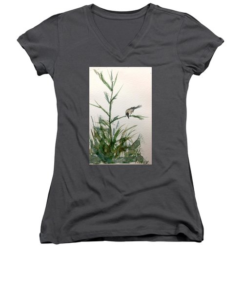 Looking Women's V-Neck T-Shirt