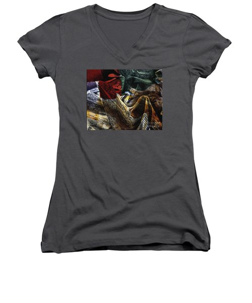 Looking For Answers Women's V-Neck T-Shirt