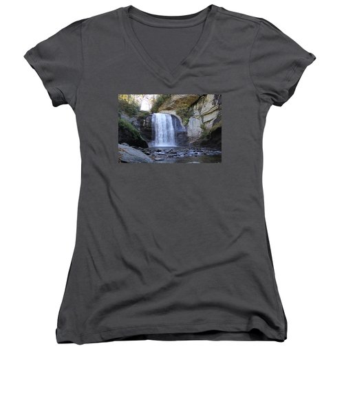 Looking Glass Falls Women's V-Neck