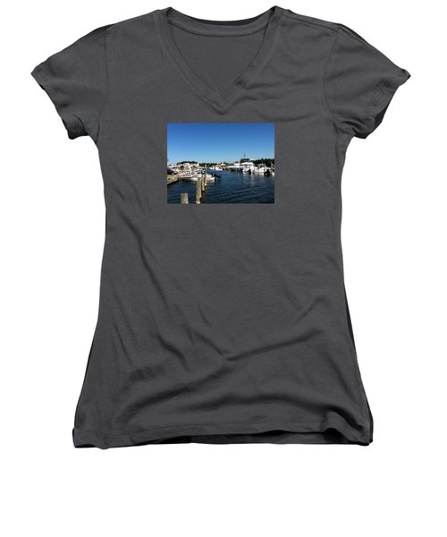 Looking Out Women's V-Neck T-Shirt