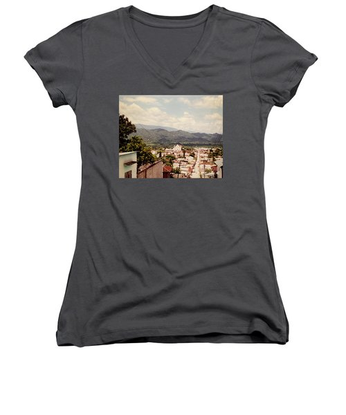Looking Out Women's V-Neck