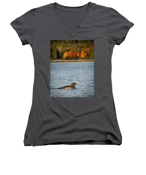 Loon Chick Women's V-Neck