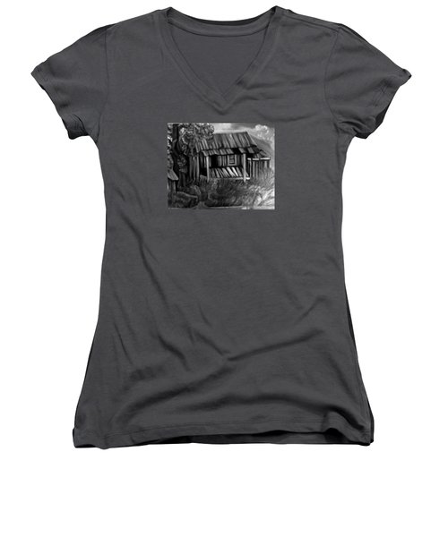 Lost Home Women's V-Neck T-Shirt