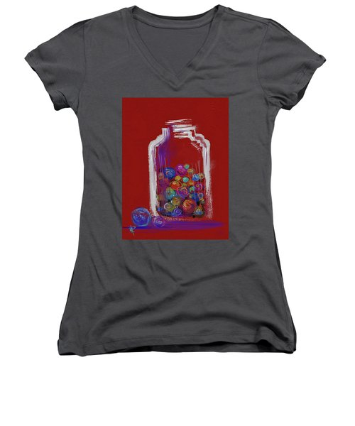 Lost Your Marbles? Women's V-Neck T-Shirt