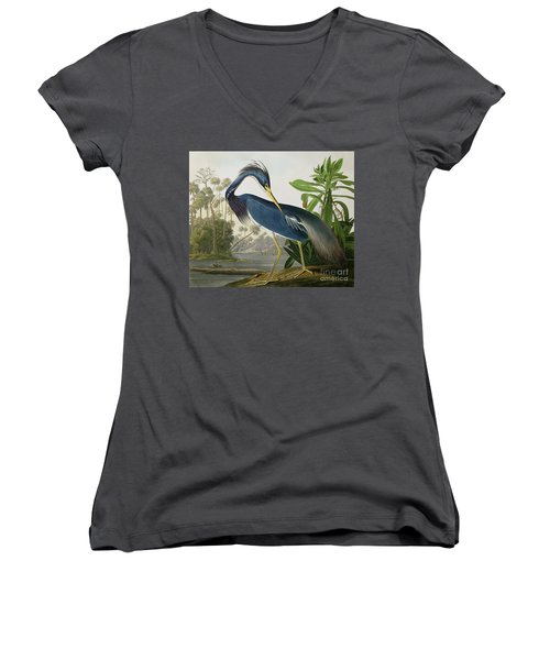 Louisiana Heron Women's V-Neck