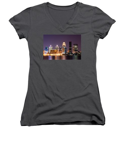 Louisville 1 Women's V-Neck