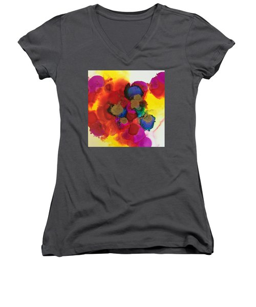 Love Is Everywhere  Women's V-Neck T-Shirt