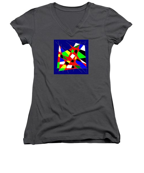 Love No. 11 Women's V-Neck (Athletic Fit)