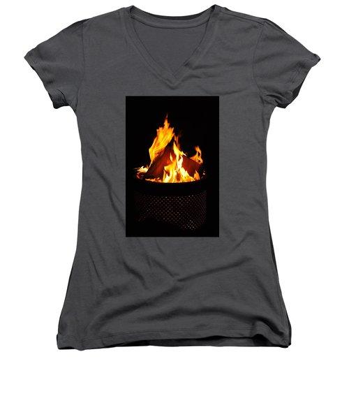 Love Of Fire Women's V-Neck