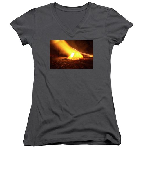 Starship Women's V-Neck T-Shirt
