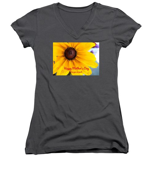 Love You Mama Women's V-Neck