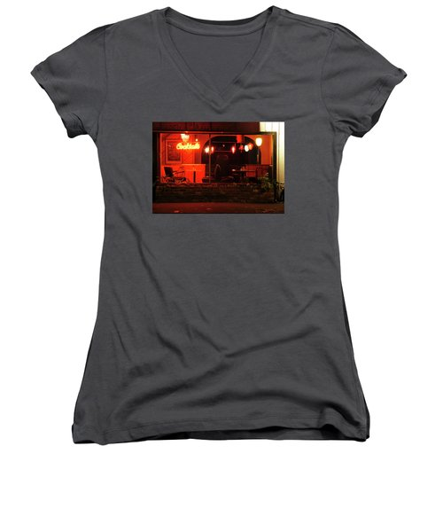 Low Brow Women's V-Neck