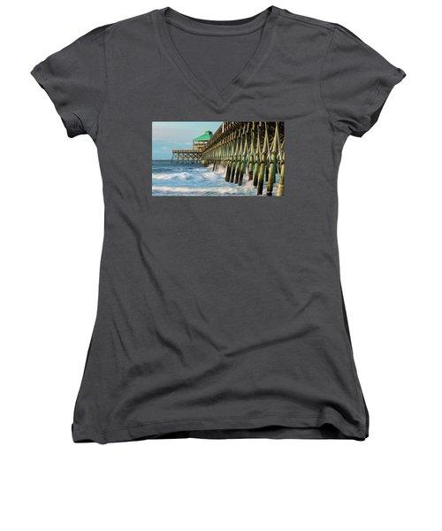 Low Country Landmark Women's V-Neck T-Shirt