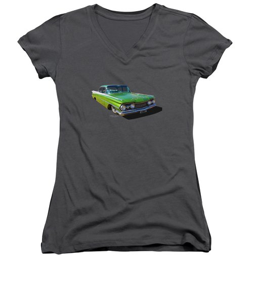 Low Down Olds Women's V-Neck (Athletic Fit)