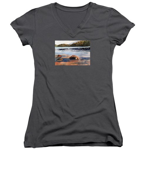 Low Tide Women's V-Neck T-Shirt
