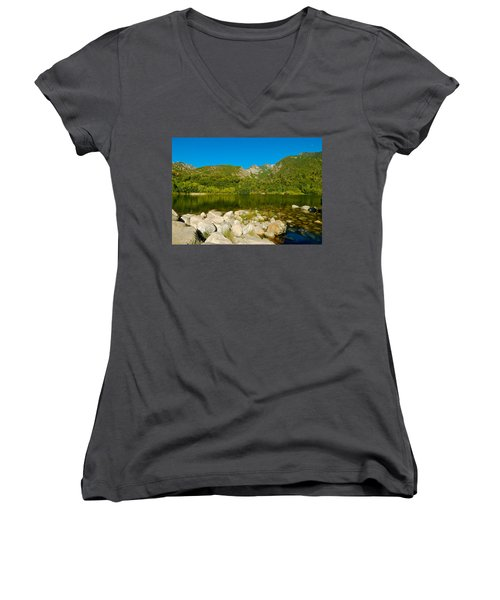 Lower Bells Canyon Reservoir Women's V-Neck
