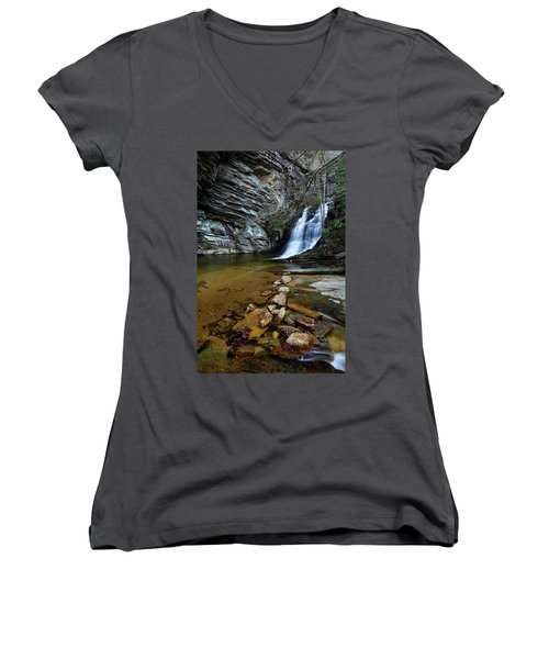 Lower Cascades Women's V-Neck