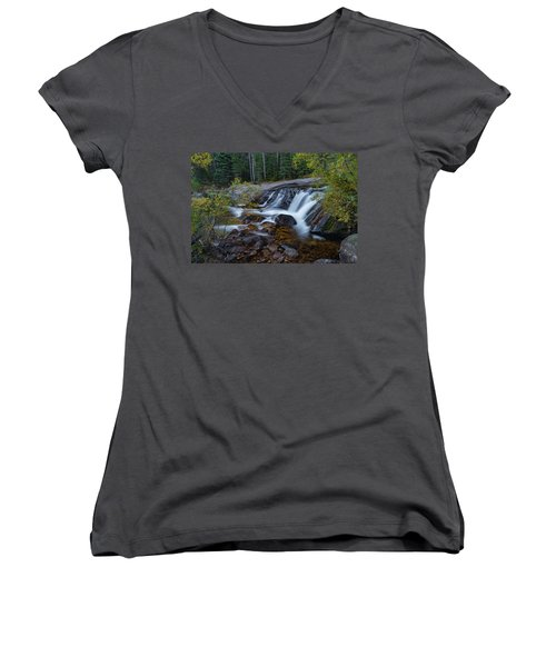 Lower Copeland Falls Women's V-Neck (Athletic Fit)