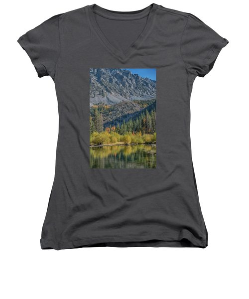 Lundy Canyon Women's V-Neck T-Shirt