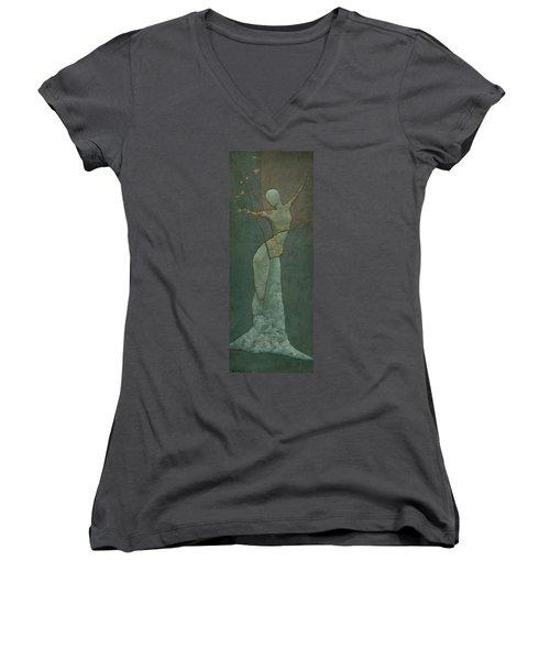Lyra's Spell Women's V-Neck