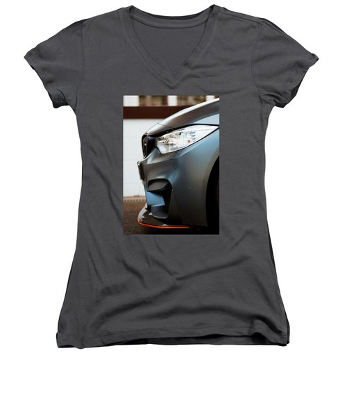 M4 Gts Profile Women's V-Neck (Athletic Fit)