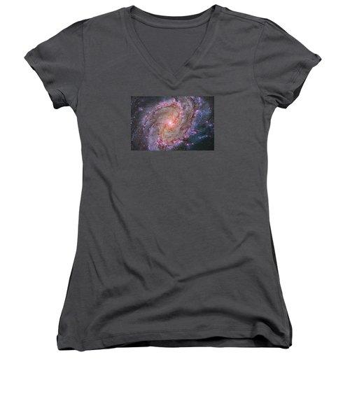 M83 Women's V-Neck T-Shirt (Junior Cut)