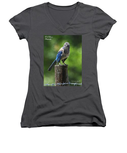 Mad Bird Women's V-Neck