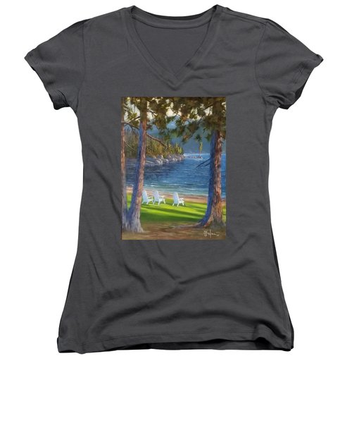 Made In The Shade Women's V-Neck (Athletic Fit)