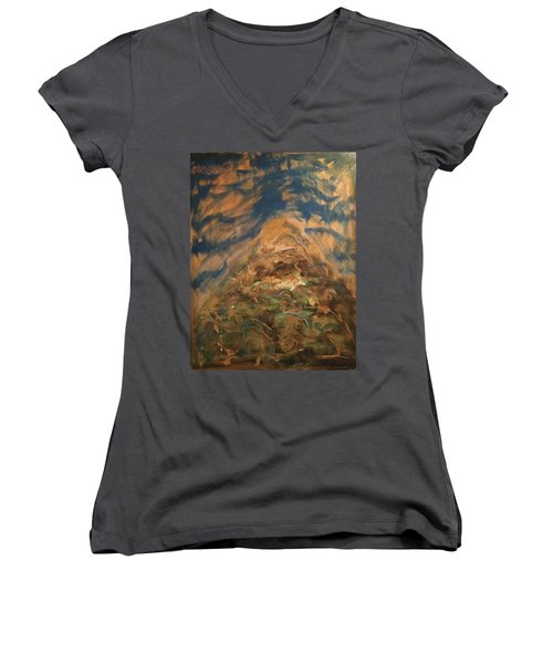 Made It To The Top Women's V-Neck T-Shirt (Junior Cut)