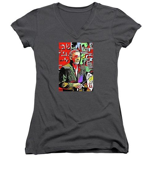 Maestro Michael Women's V-Neck T-Shirt