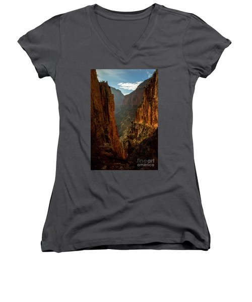 Magestic View Women's V-Neck (Athletic Fit)