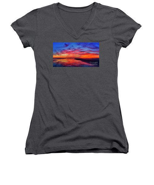 Magic Hour Women's V-Neck (Athletic Fit)
