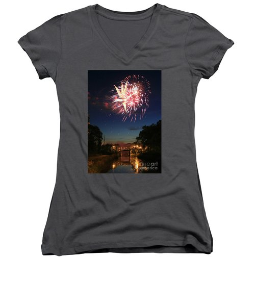 Magic In The Sky Women's V-Neck
