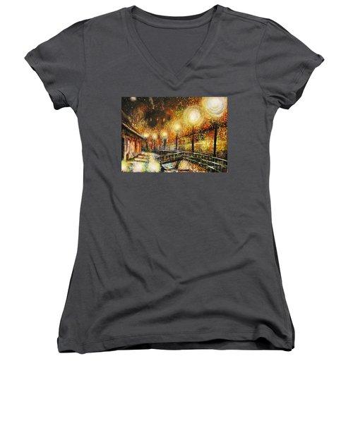 Magic Night Women's V-Neck T-Shirt