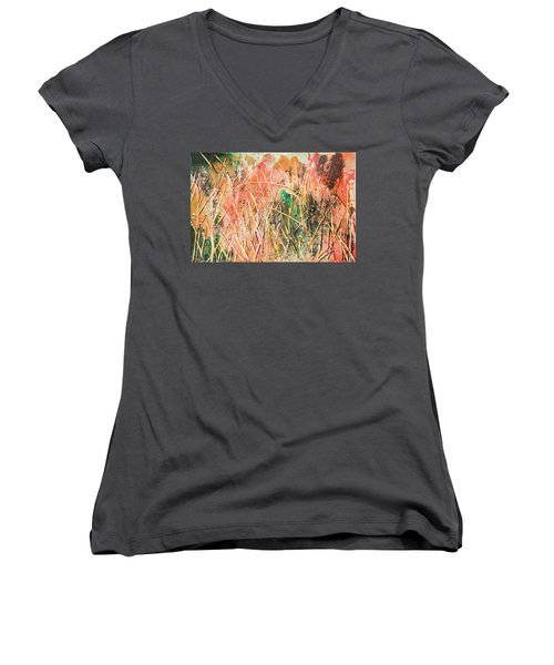 Magic Of Colors Women's V-Neck T-Shirt