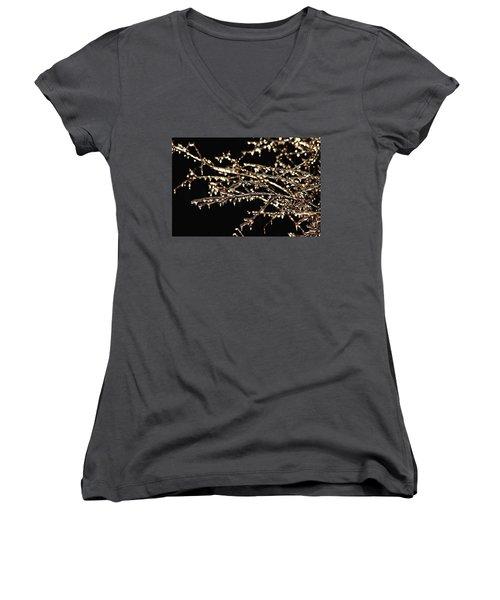 Magic Show Women's V-Neck T-Shirt (Junior Cut) by Debbie Oppermann