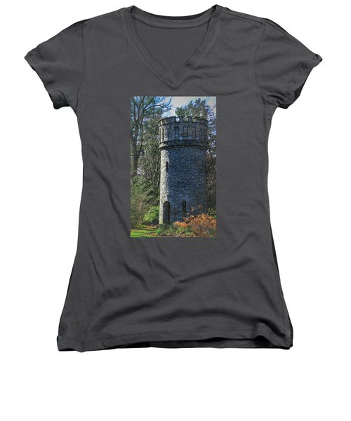 Magical Tower Women's V-Neck (Athletic Fit)