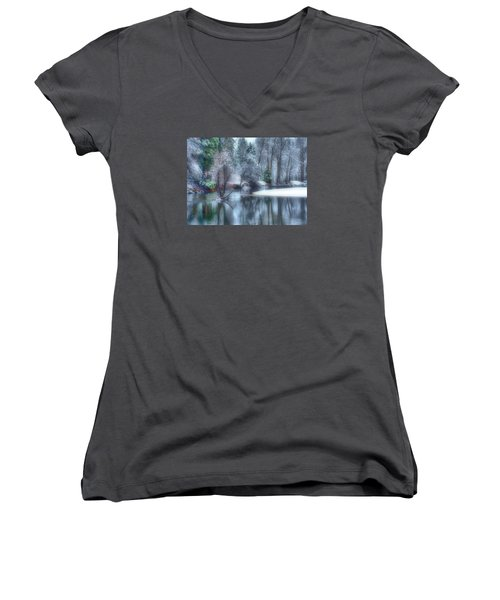 Magical Touch To Yosemite Women's V-Neck T-Shirt