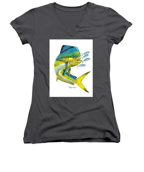 Mahi Digital Women's V-Neck T-Shirt
