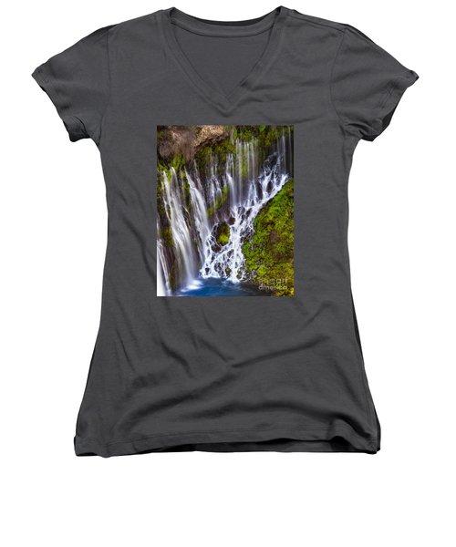 Majestic Falls Women's V-Neck T-Shirt