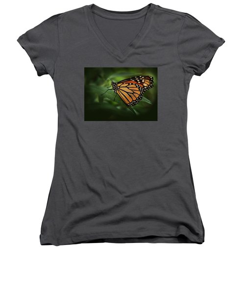 Majestic Monarch Women's V-Neck (Athletic Fit)